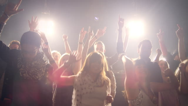 people on concert - nightclub stock videos & royalty-free footage