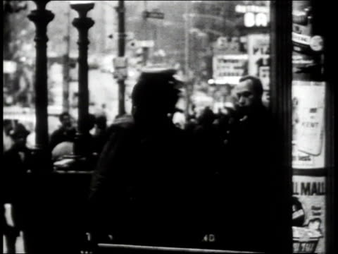 1965 b/w people on the street in the south bronx / new york city, new york, united states - south america stock videos & royalty-free footage