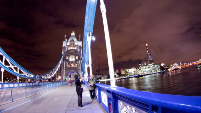 HD TIME LAPSE: People On The Tower Bridge