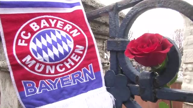 people place flowers and german soccer clubs scarves around the obelisk of theodosius a monument from ancient egypt to pay tribute to the victims of... - neckwear stock videos and b-roll footage