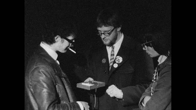 people play chess at night club, london; 1967 - 1967 stock videos & royalty-free footage
