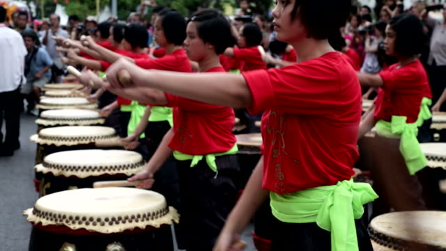 people playing during street festival - coordination stock videos & royalty-free footage