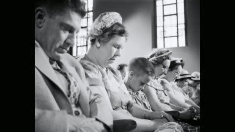 people praying in church - religion stock videos & royalty-free footage