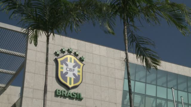 people react after the brazilian football confederation back a corruption probe into fifa following the arrest of seven top officials including the... - fifa stock videos & royalty-free footage