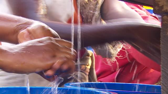 people receiving ebola vaccinations in goma, democratic republic of congo - democratic republic of the congo stock videos & royalty-free footage