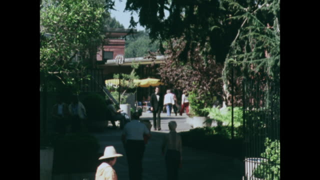 people shopping and relaxing in ghirardelli square, san francisco; 1979 - 1970 1979 stock videos & royalty-free footage