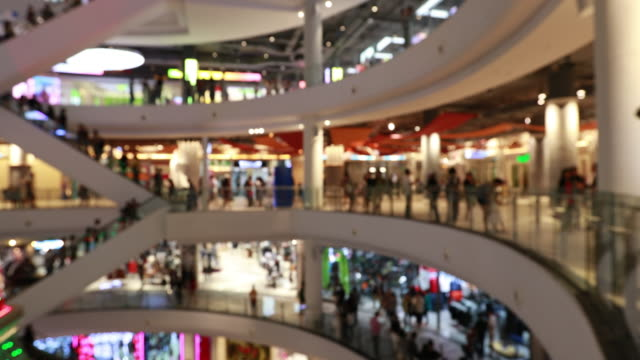 People Shopping Mall, Out of focus