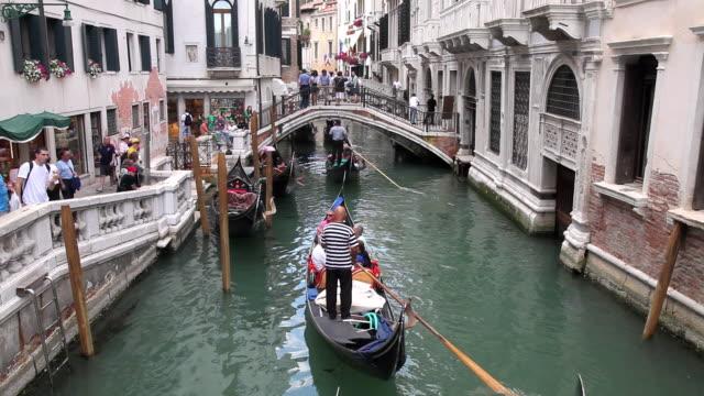 MS People sightseeing on Gondola trip / Venice, Italy