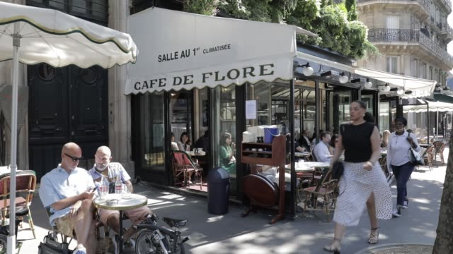 FRA: Cafes And Restaurants Reopen To The Public