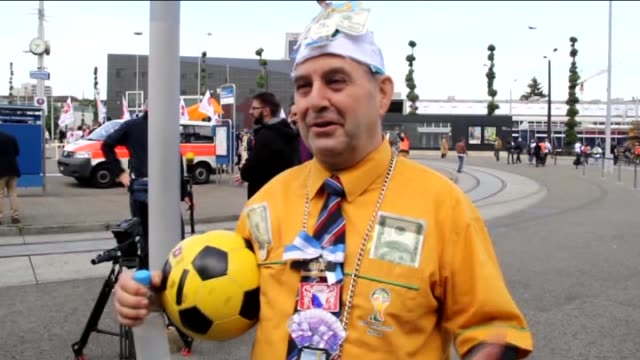 people stage a protest outside the hallenstadion where 65th fifa congress is being held in zurich, switzerland on may 29, 2015. - general view of the... - international team soccer stock videos & royalty-free footage