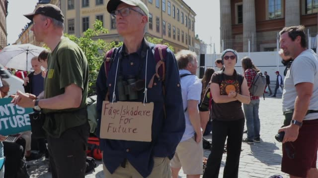 SWE: 'Fridays for Future' Climate Strike In Stockholm