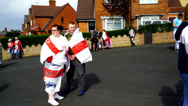 people take part in the annual stone cross st george's day parade on april 22 2018 in west bromwich england the black country parade is a... - stone object stock videos and b-roll footage