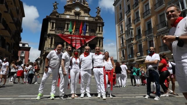 ESP: With San Fermin Festival Cancelled, Pamplona Locals Have Run Of The Town