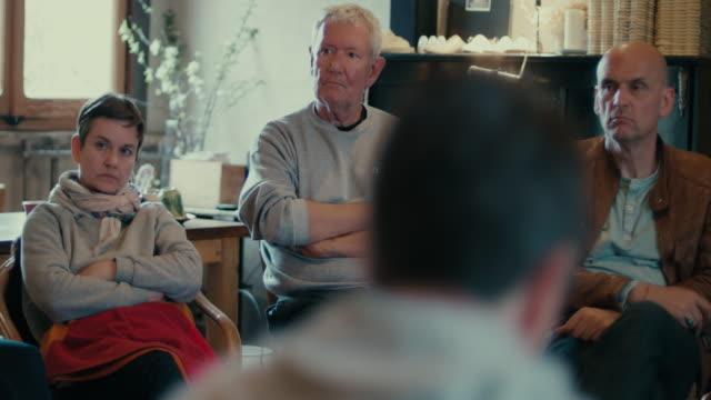 people talking indoors - community stock videos & royalty-free footage