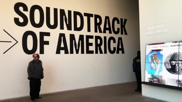 people tour the shed during a media preview at the new cultural space at hudson yards on april 03 2019 in new york city with aims to be the world's... - popular music tour stock videos and b-roll footage