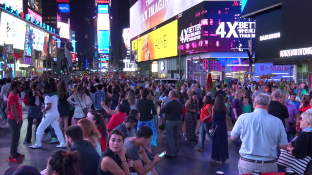People Traffic, Times Square, New York City