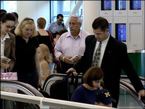 people traveling at midway airport on feb 1 2002 in chicago illinois - säkerhetsskanner bildbanksvideor och videomaterial från bakom kulisserna