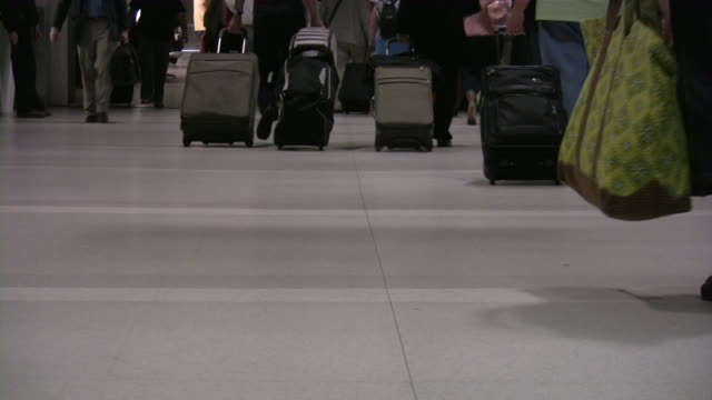 People Traveling. Passengers at the airport.
