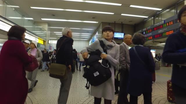 旅行する - 地下鉄駅点の映像素材/bロール