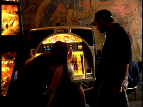 people using a jukebox in san francisco - jukebox stock videos & royalty-free footage