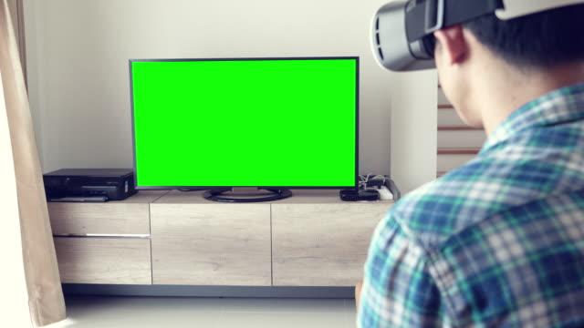 Mensen met behulp van Virtual Reality