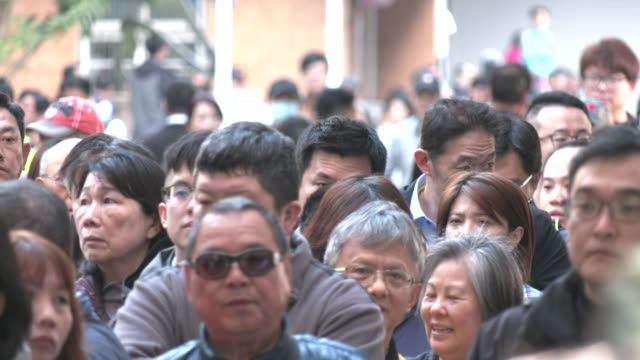 people vote in the taiwan presidential elections where president tsai ing-wen won the popular vote and a second term in office. - taiwan stock videos & royalty-free footage