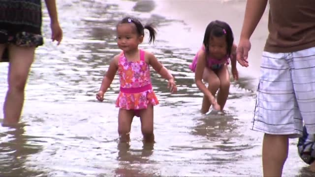 people wading in sacramento river on june 03 2013 in sacramento california - wading stock videos & royalty-free footage