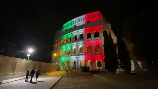 ITA: Coliseum Reopening In Rome