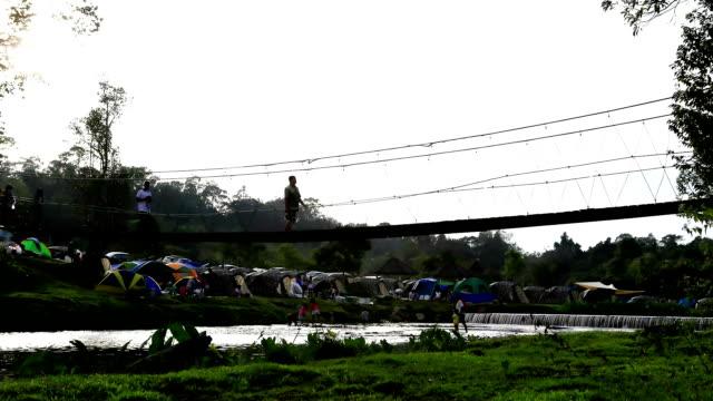 Pessoas Passeio a Ponte de Corda