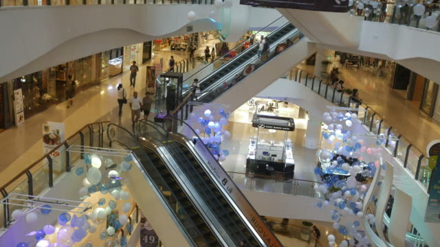 people walking area Shopping mall