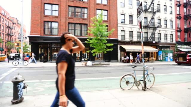 People Walking Around Greenwich Village