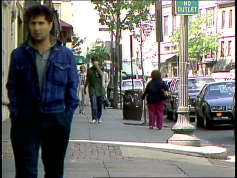 people walking down sidewalk in washington dc - 1985 stock videos & royalty-free footage