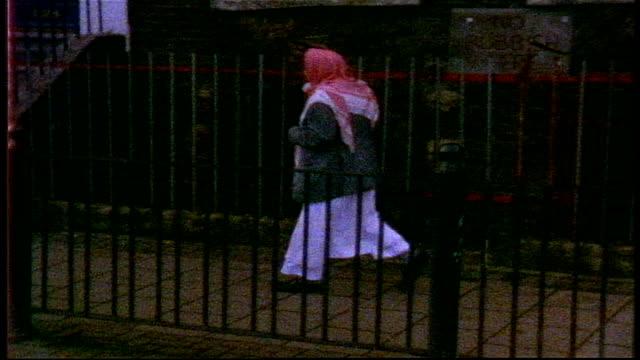 people walking down sidewalks in london on super 8 film - grainy stock videos & royalty-free footage