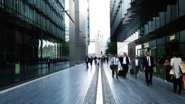 People Walking In More London Area