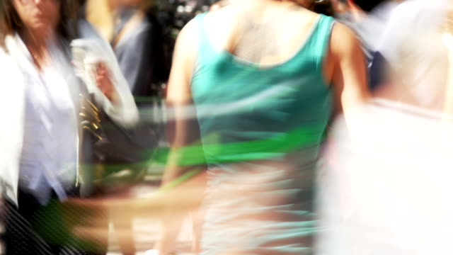 Menschen In Fußgängerzone (4 k UHD zu/HD)