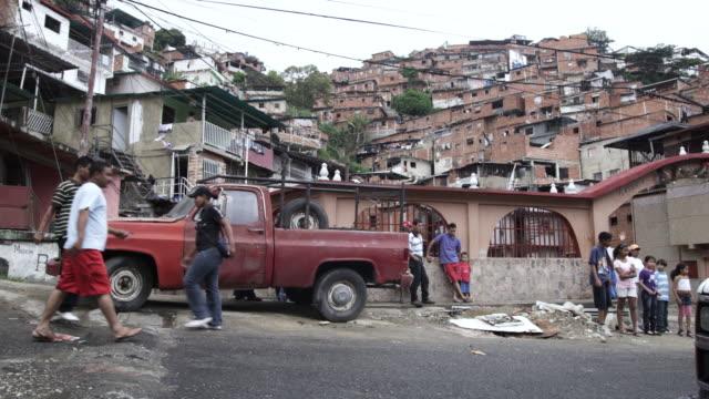 MS PAN People walking on street / Caracas, Venezuela