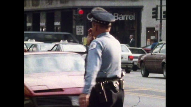 people walking on streets in chicago; 1988 - cross legged stock videos & royalty-free footage