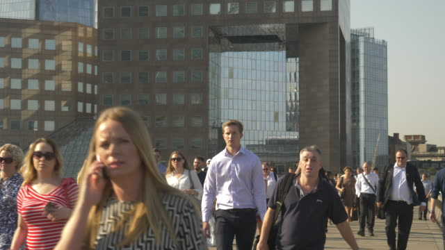 people walking to work - population explosion stock videos & royalty-free footage