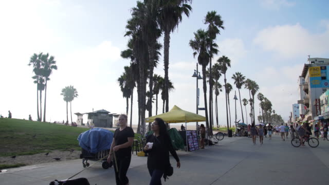 People walking - Venice Beach