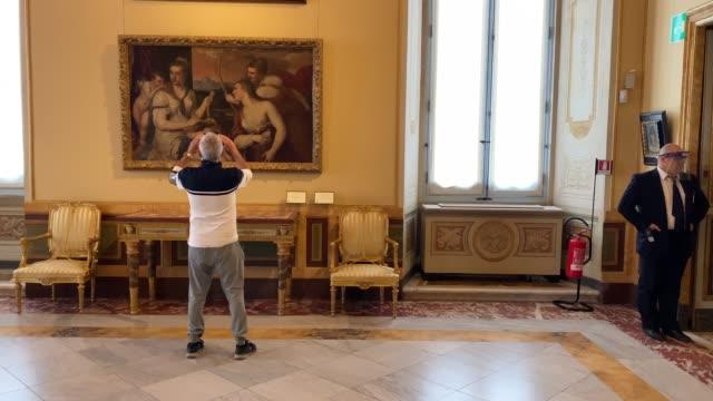 ITA: Galleria Borghese Reopening In Rome