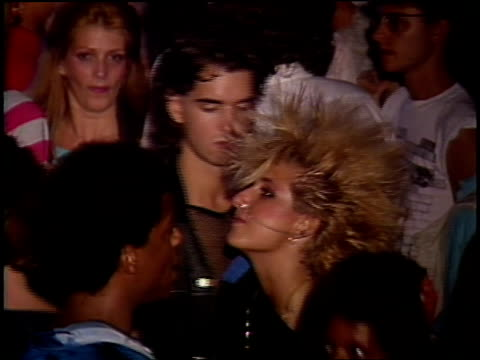 people with large hairstyles dancing at an nyc party in 1980s - 1984 stock videos & royalty-free footage