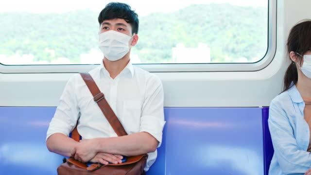 vidéos et rushes de personnes avec un masque en mrt - poumon humain