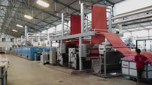 WS People working in Kanakaria textile mills / Ahemdabad, Gujarat, India