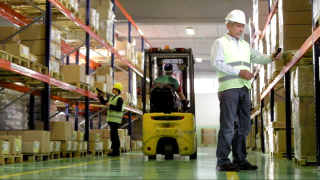 People Working In The Warehouse