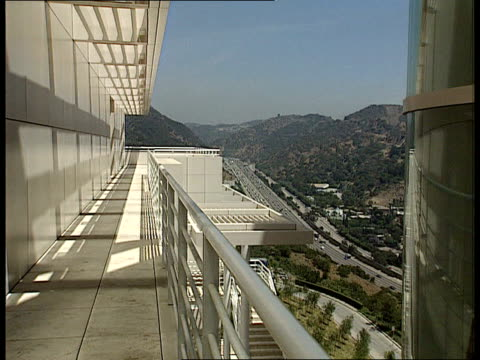 John Paul Getty Museum Christopher Knight intvw In most cities major institution would be on a major thoroughfare/ by placing Getty Centre on hill...