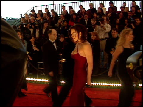 people's choice awards 98 cam 1a arrivals at the 1998 people's choice awards arrivals at barker hanger in santa monica california on january 11 1998 - people's choice awards stock videos & royalty-free footage