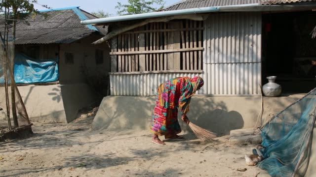 people's lifestyle inside sundarban at satkhira bangladesh on april 10 2018 the sundarbans which means 'beautiful jungle' in bengali is the world's... - bangladesh stock videos & royalty-free footage