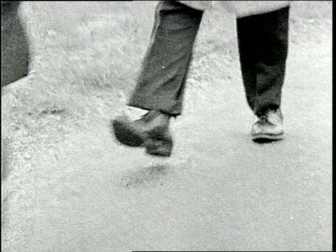 people's shoes as they walk people marching during civil rights - 1946年点の映像素材/bロール
