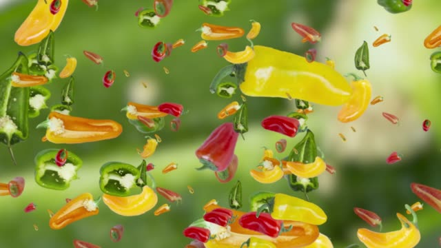 Peppers Digital Animation Background
