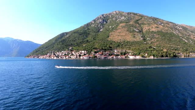 perast - kotor bay, montenegro - perast stock videos and b-roll footage